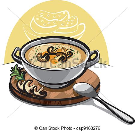 Cream soup Vector Clipart Illustrations. 761 Cream soup clip art.