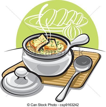 soup Clip Art Free, illustration.