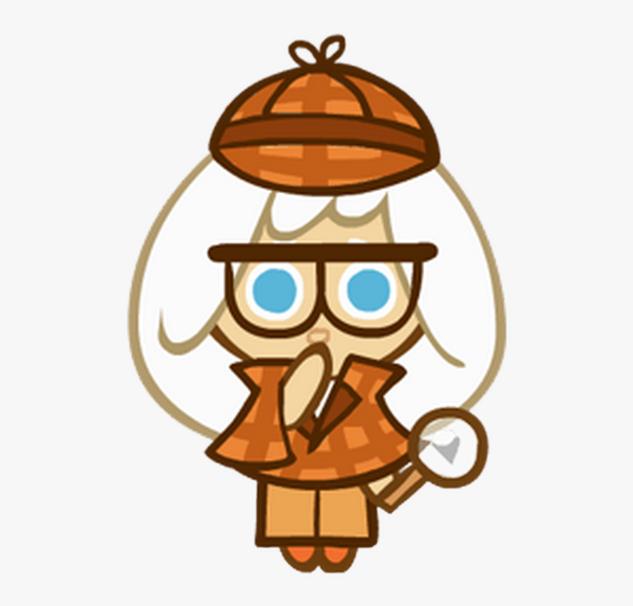 Creampuff Cookie Detective , Free Transparent Clipart.