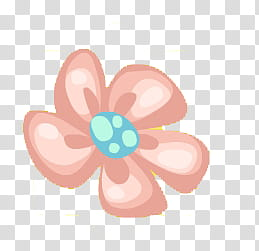 Recursos para crear dolls, pink flower illustration.
