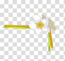 Recursos para crear dolls, white flower border illustration.