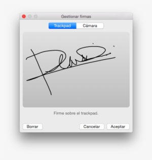 Firma Png PNG Images.