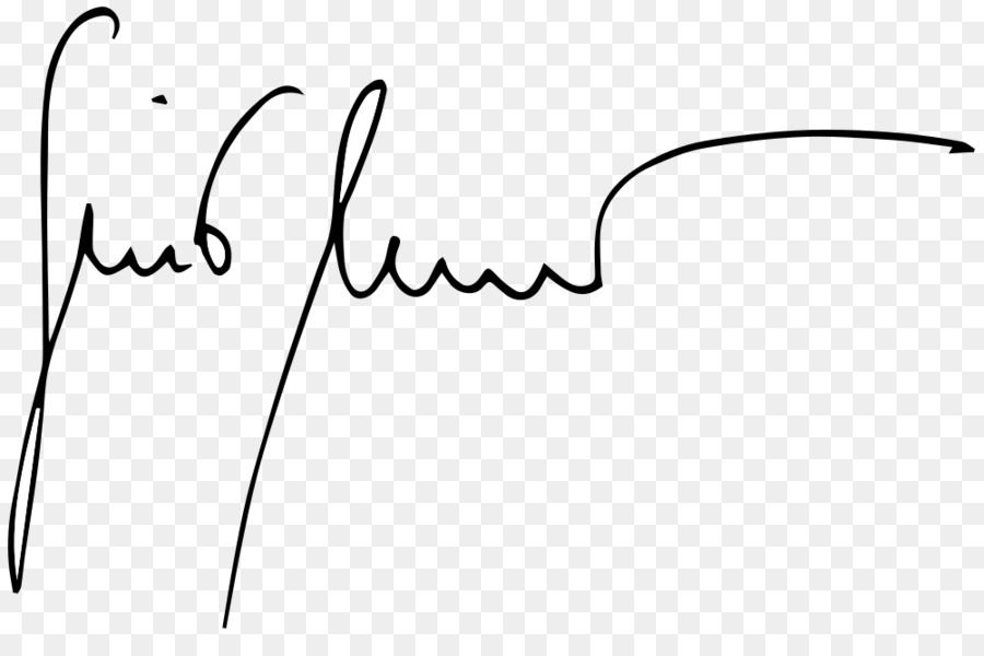 Signature block Clip art.