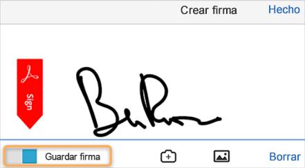 Capturar la firma en el móvil y usarla en todas partes.