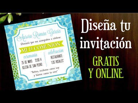 COMO HACER UNA INVITACION ONLINE GRATIS.