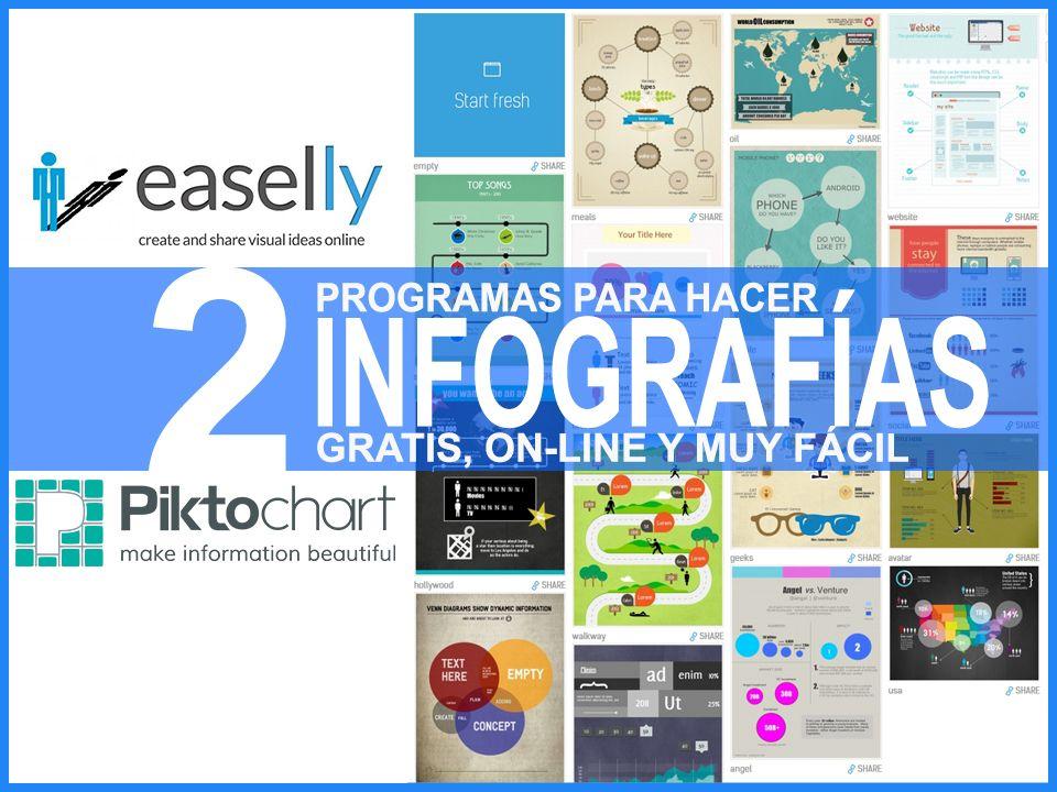 2 PROGRAMAS PARA HACER INFOGRAFÍAS GRATIS, ONLINE Y FÁCIL.