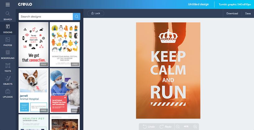 Crear gráficos de Tumblr.