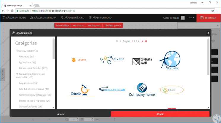 Crear logo online rápido y fácil.