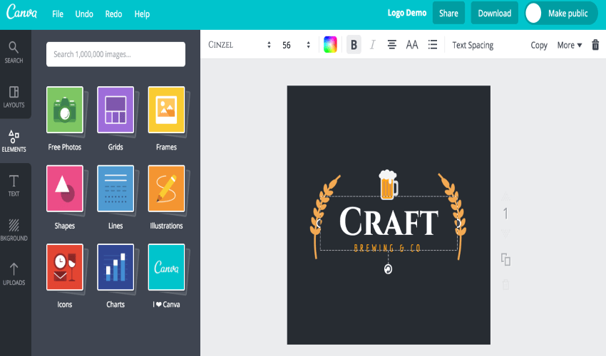 Top 20 herramientas online gratis para diseñar tu logotipo.