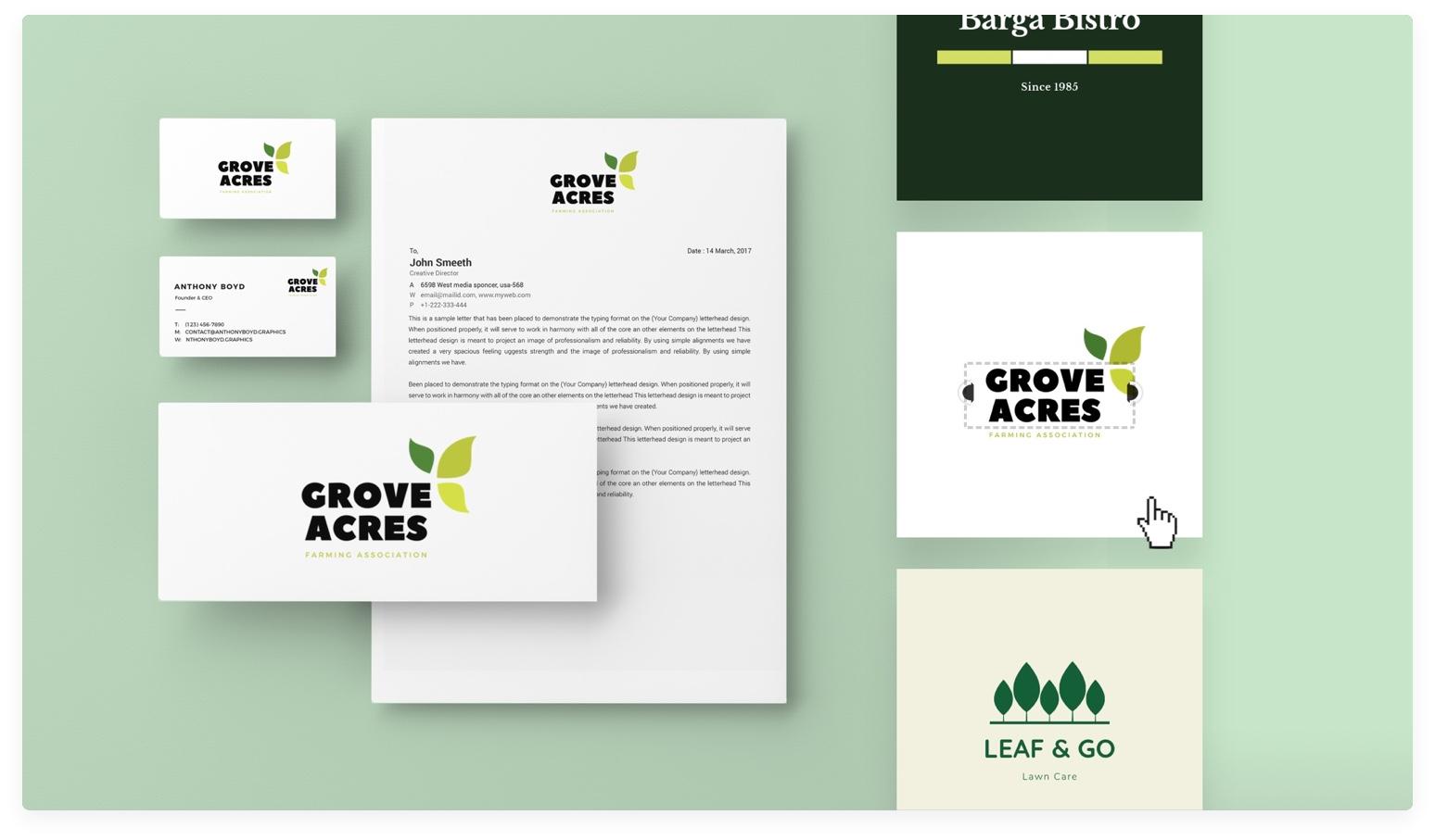 Creador de Logos: Crea Logos Gratis en 2 Minutos.