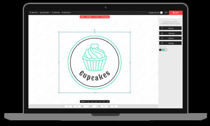 Apps sencillas para crear logotipos.