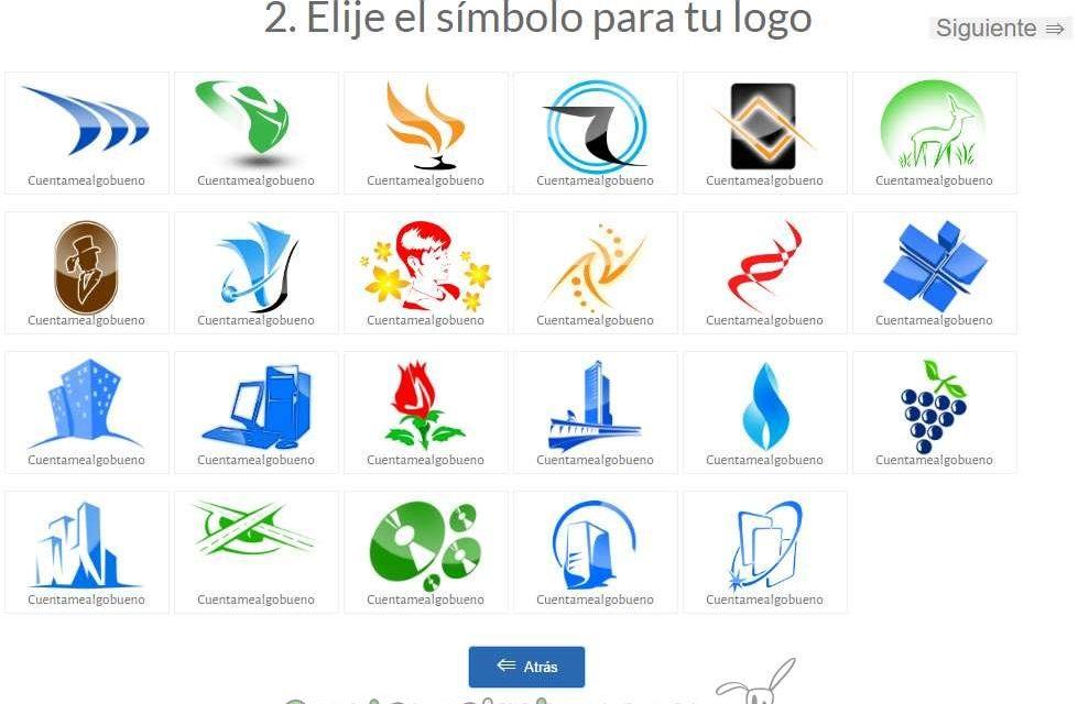 Una aplicación para crear logotipos gratuitos.