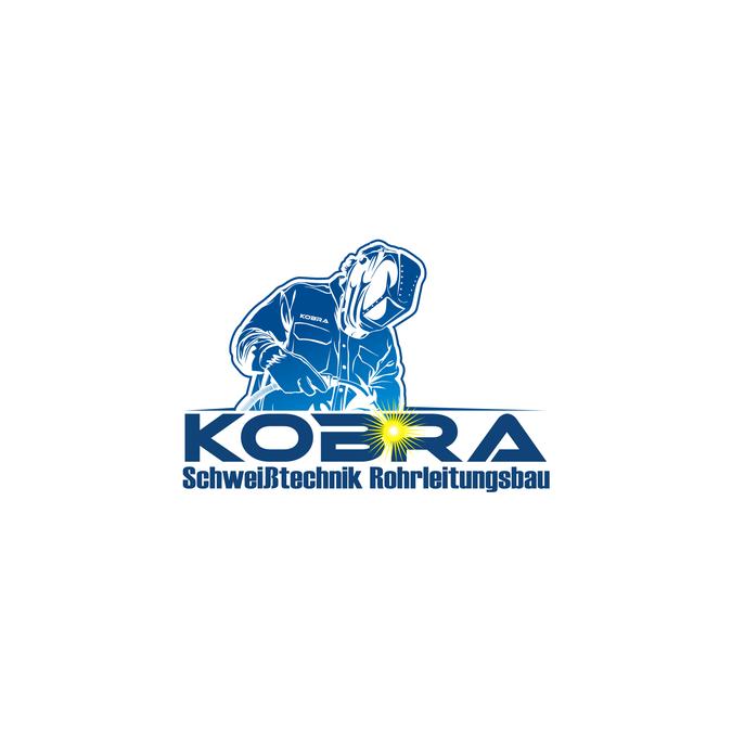 The Kobra Logo. Crearte a originell logo for weldingcompany.