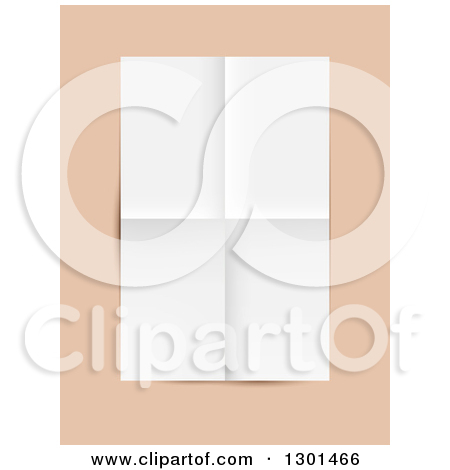 Clipart of a 3d Curled Page Corner Design Element.