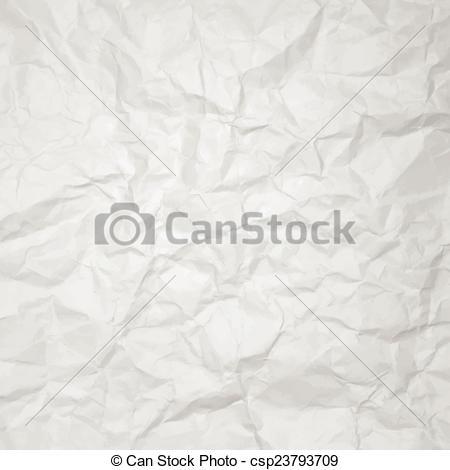 Vector Clipart of creased paper. vector texture csp23793709.