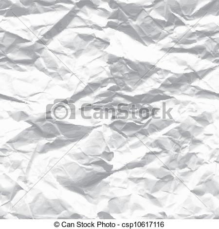 Vector Clip Art of wrinkled paper csp10617116.