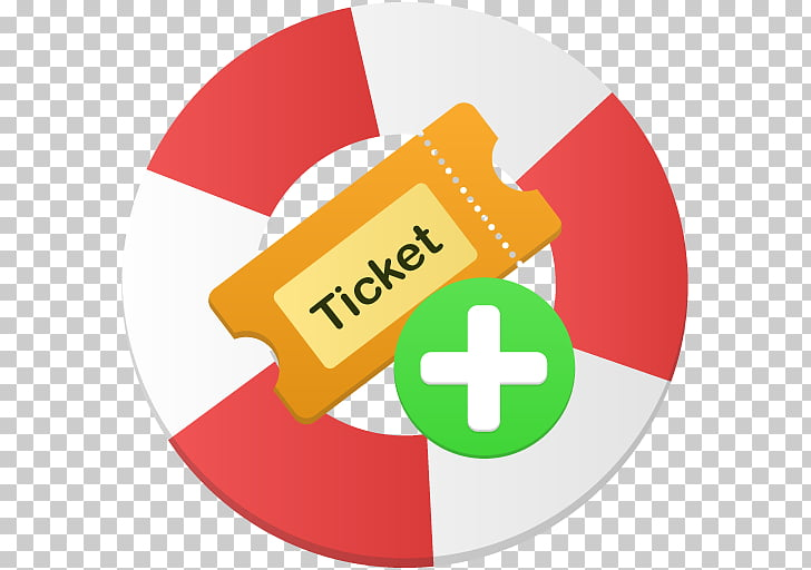 Area text brand symbol, Create ticket PNG clipart.