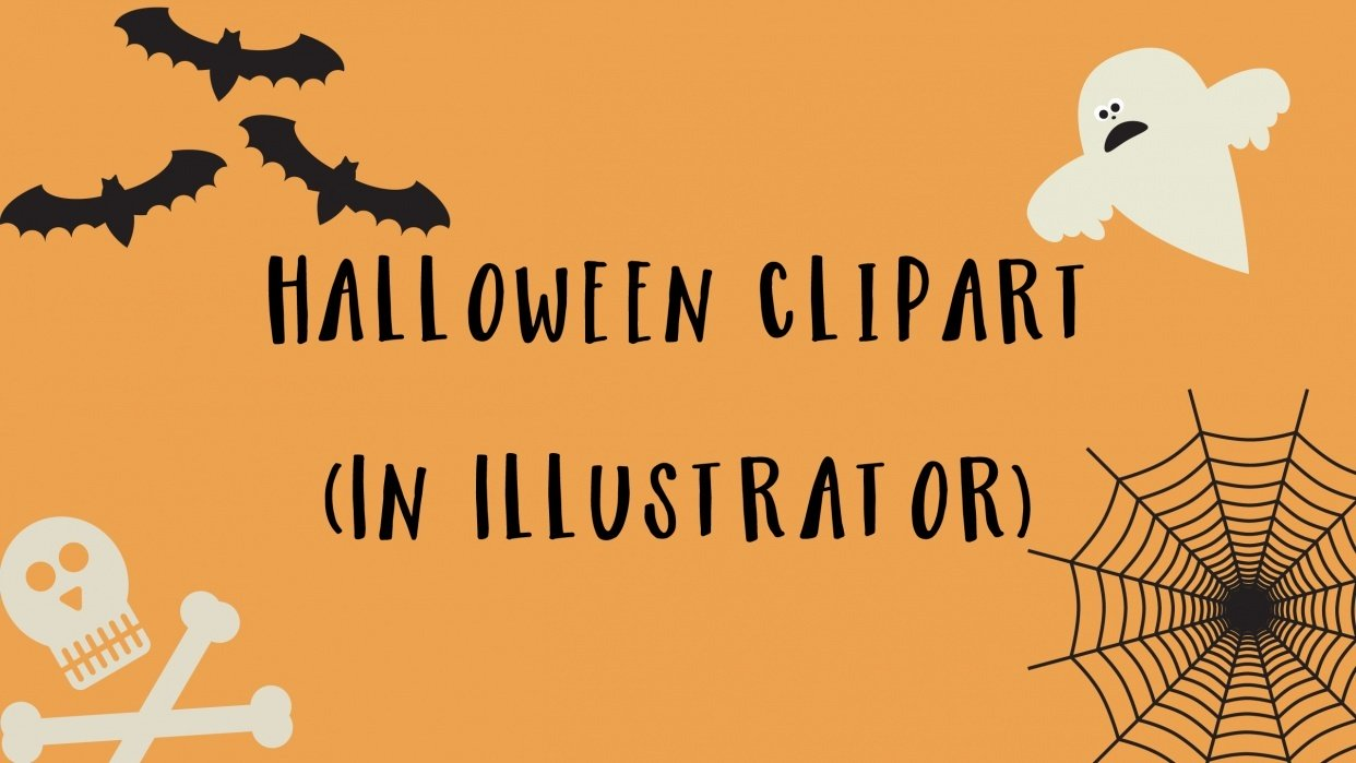 How To Create Halloween Clipart in Illustrator.