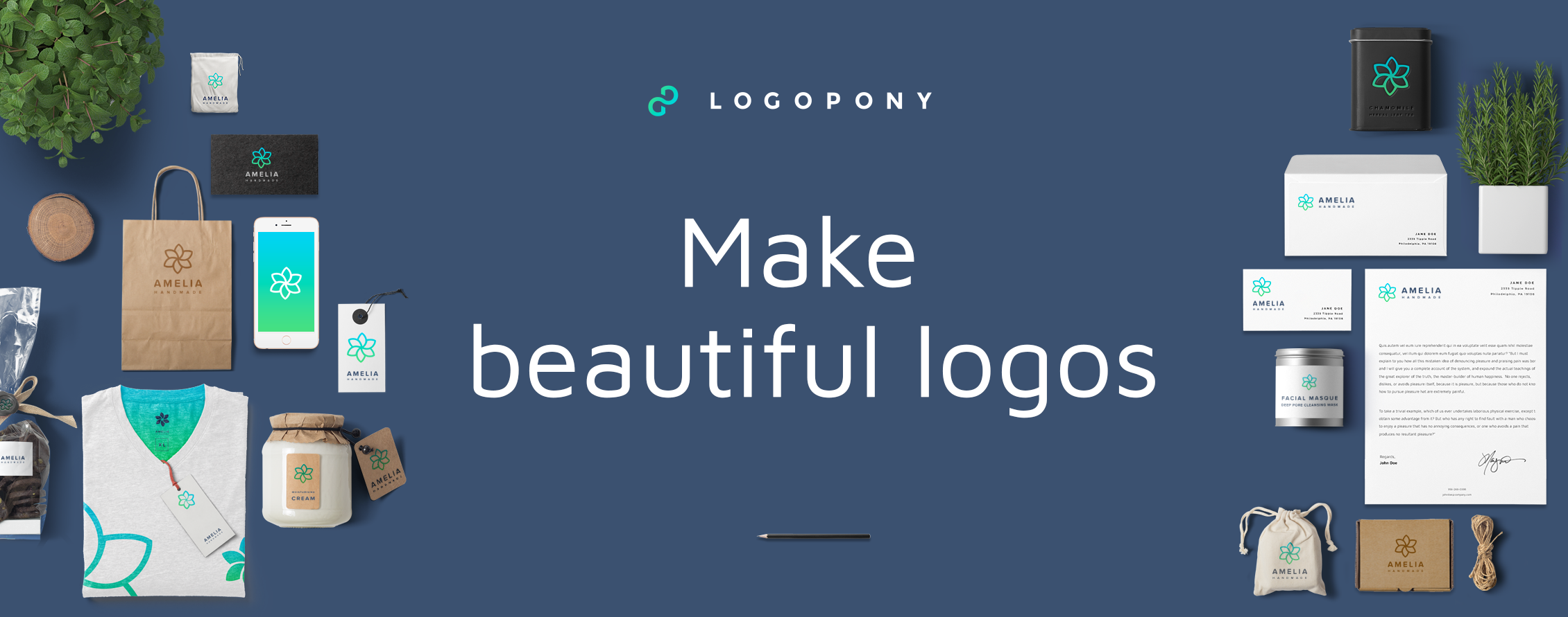 Logopony Logo Maker.