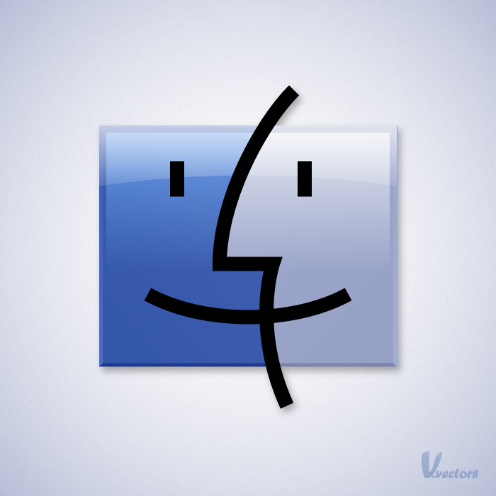 Create the Mac Finder Logo.