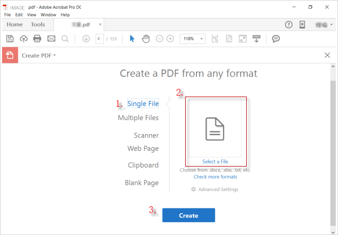 How to Convert Images to PDF File in Windows 10/7.