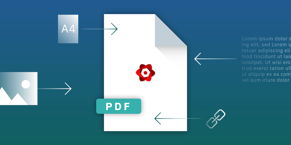 Create PDFs with React.