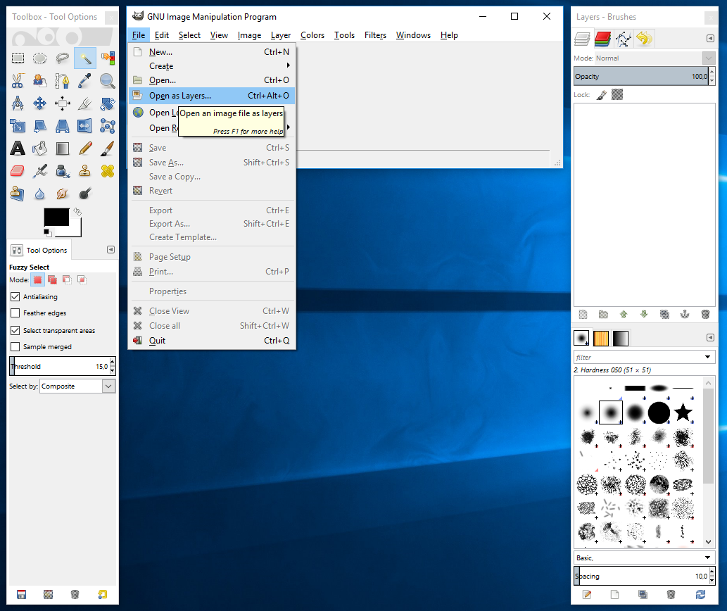 How to Make Background Transparent in Gimp A developer's notes.