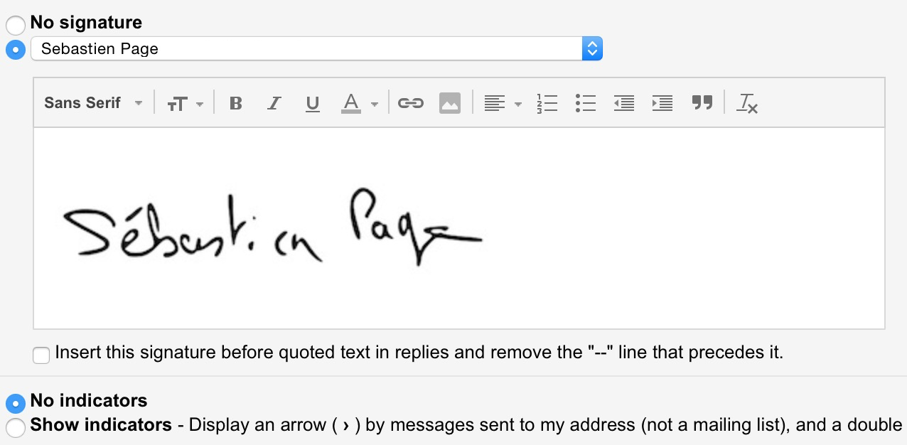 How to create a handwritten email signature on iPhone.