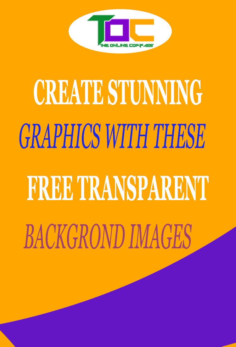 10 Free sites for amazing PNG transparent background images.
