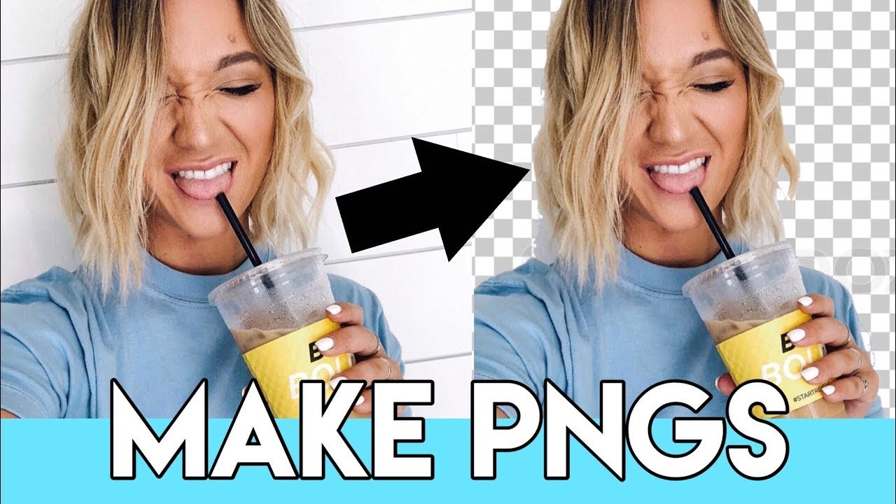 How to Make a Transparent PNG Online Free!! [Hindi].