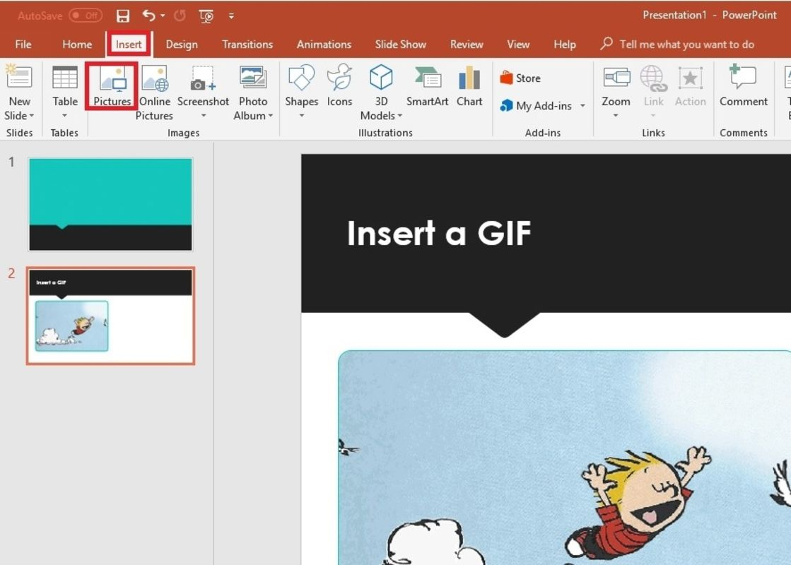 How to Put a GIF in PowerPoint.