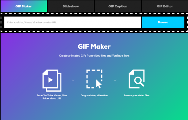 Free online tools to create animated GIF files.