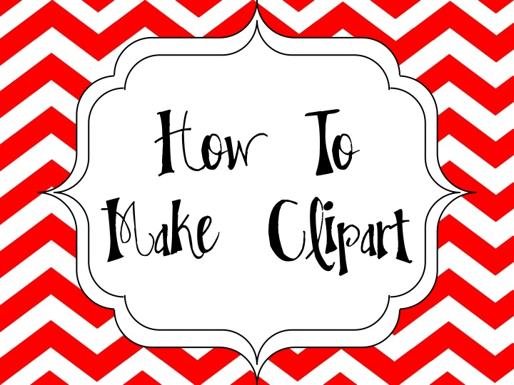 How I Make Clipart on My iPad.