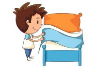 Make Your Bed Clipart.