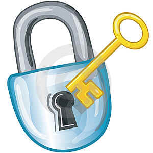 Create Strong Passwords Clip Art.