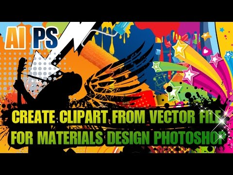 Adobe Illustrator Tutorial : How To Create Clipart From.