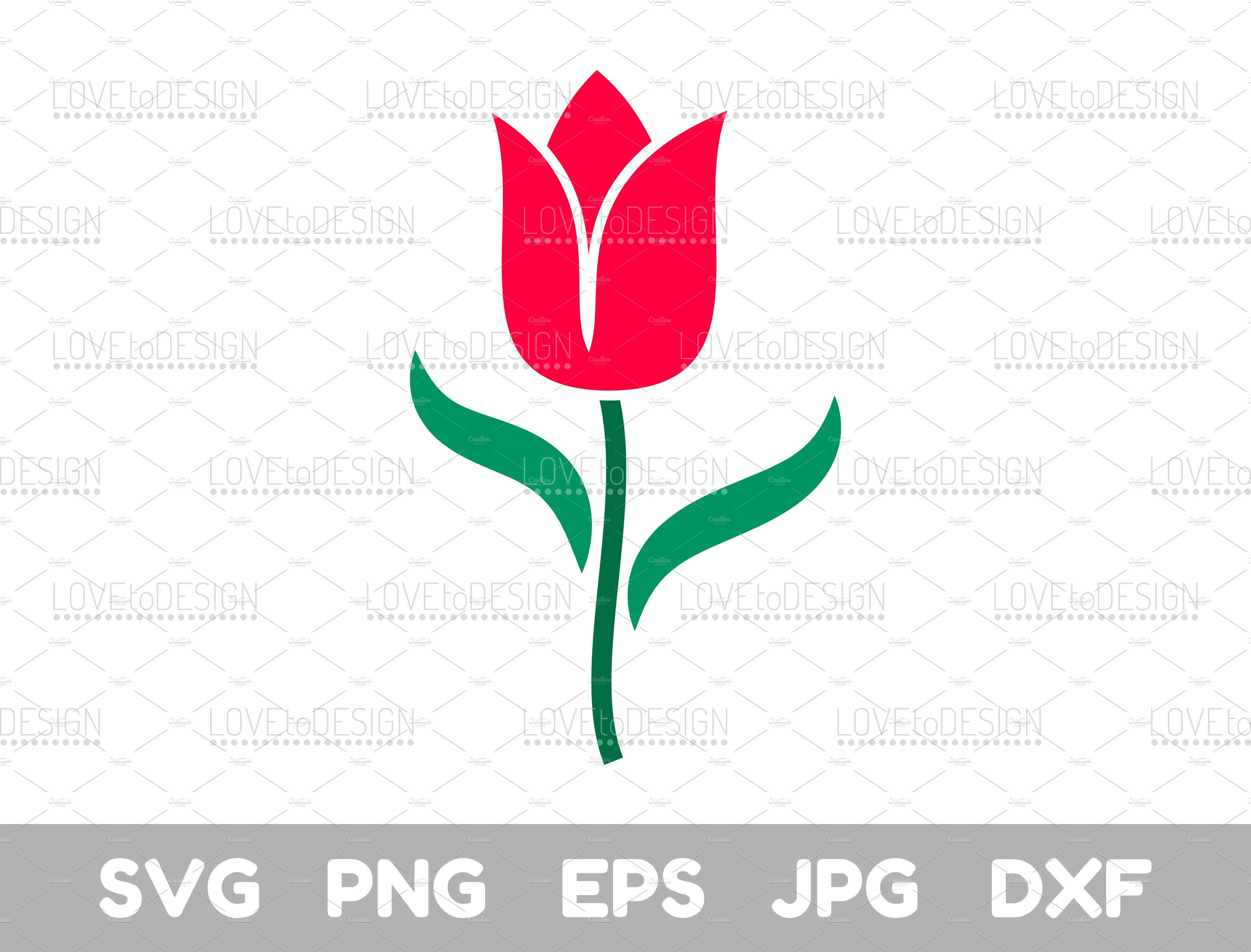 tulip flower, tulip clipart.