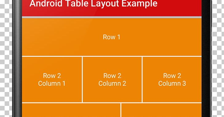 Create An App Rows And Columns Android Table PNG, Clipart.