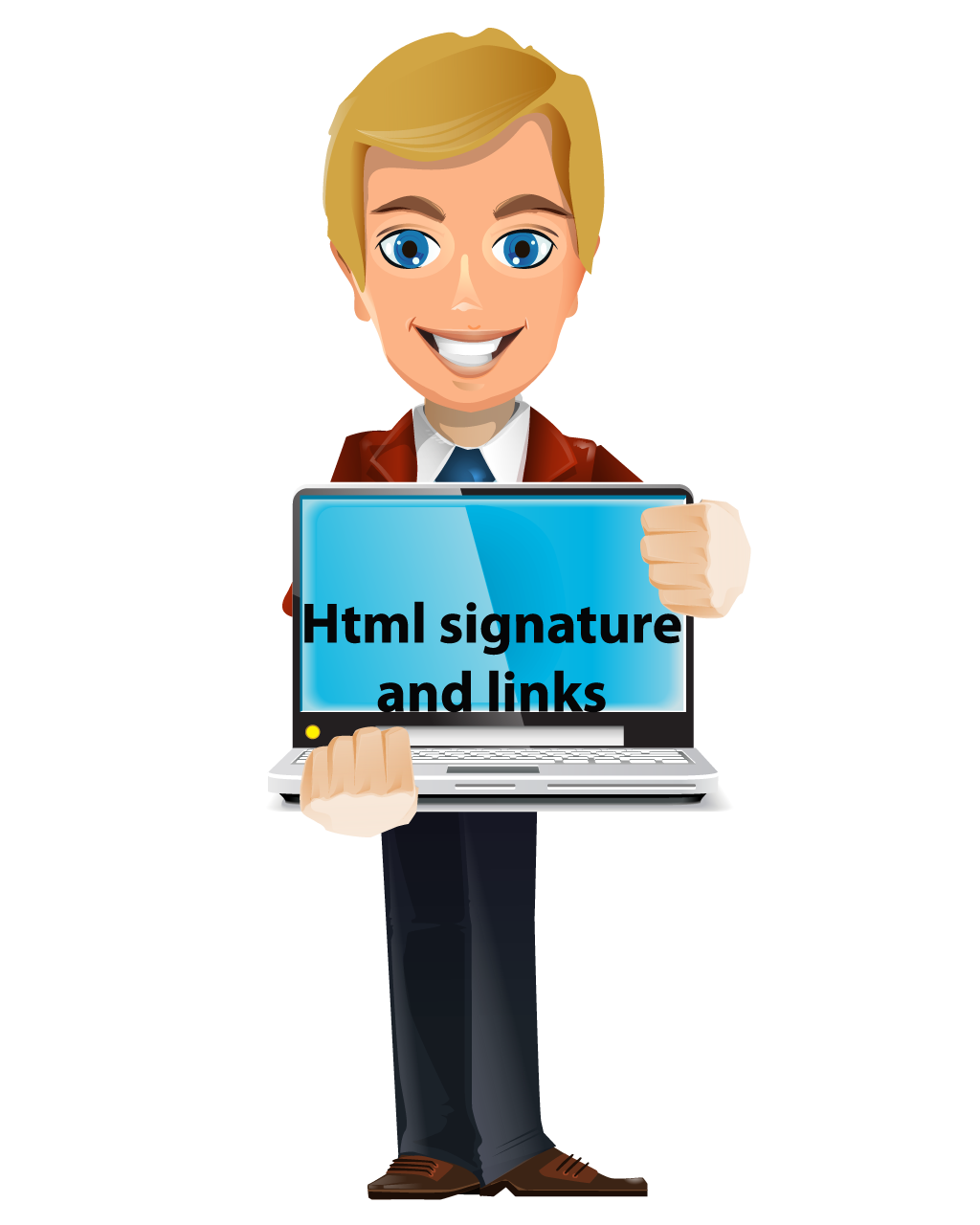How do you create an html signature or link Archives.