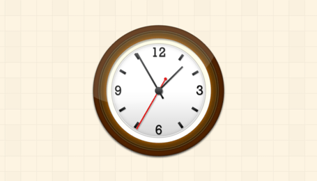 Free Create a pretty nice wall clock in Photoshops Clipart.