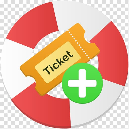 Area text brand symbol, Create ticket transparent background.