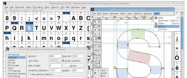 Creating a font clipart images gallery for free download.
