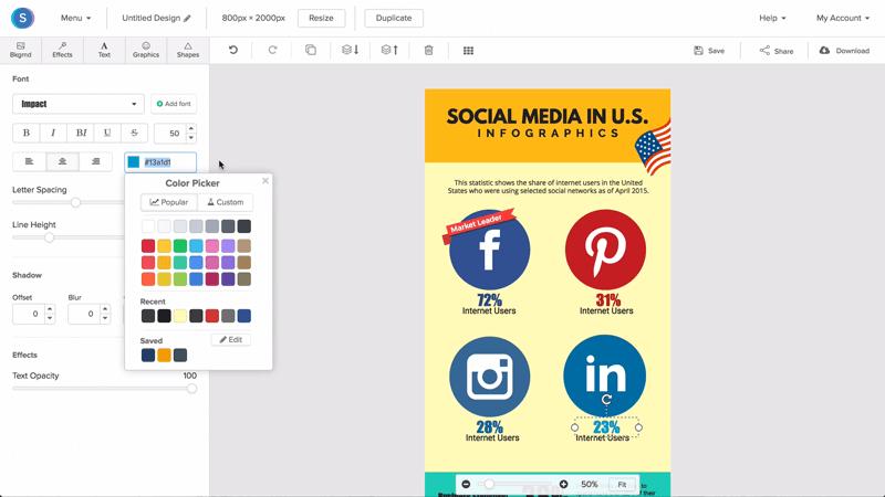 Online Infographic Maker.