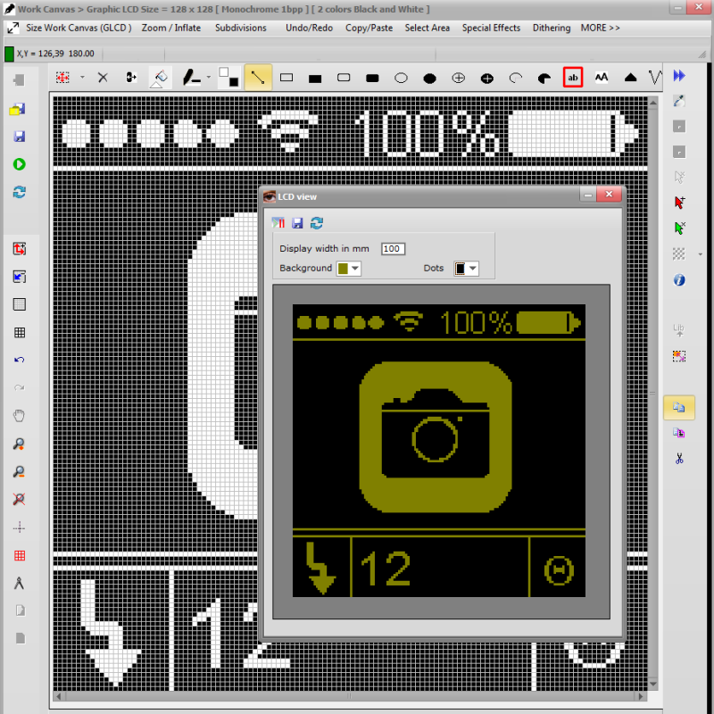 Bitmap2LCD for GLCD :: Homepage :: Convert Images.