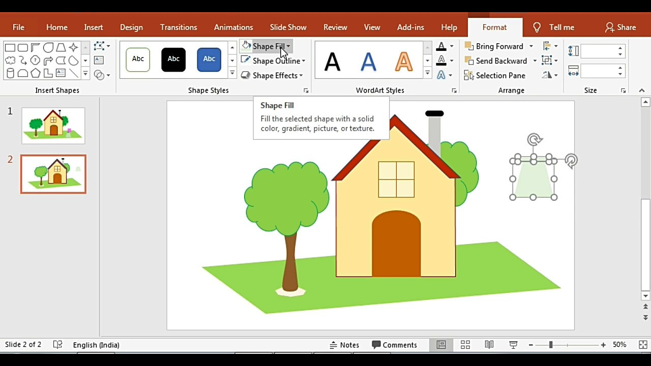 How to create your own Clipart Image using Powerpoint.