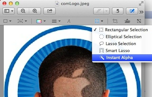 Create Your Own Transparent Image Files With Preview [OS X.