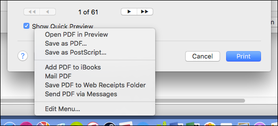 How to Create a PDF File on a Mac.