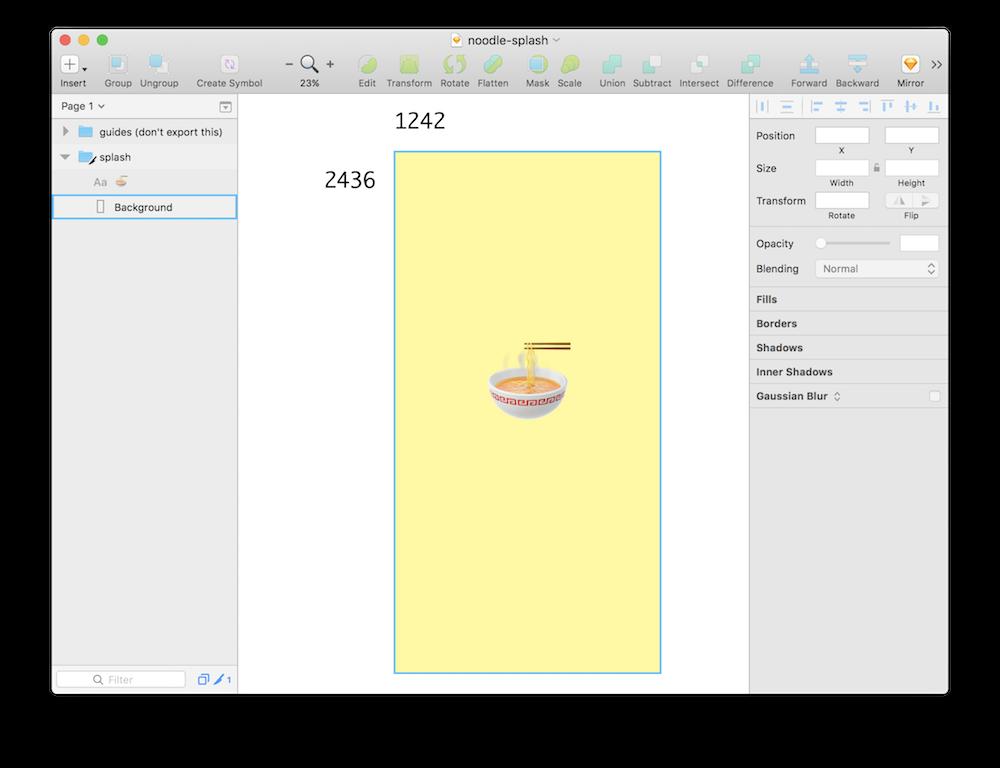 Create a Splash Screen.