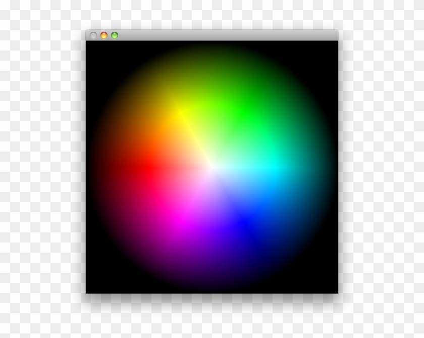 This Example Shows How To Create A Radial Hsb Gradient.