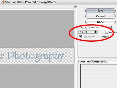 Create Transparent Watermarks in Photoshop.